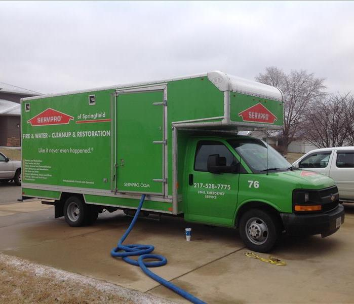 Water Damage Let SERVPRO® of Sangamon County Handle that Mess